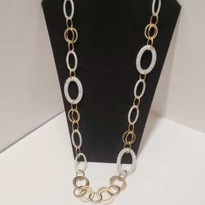 Gorgeous MOP & Gold Chain Necklace